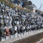 平成29年度 春彼岸中日 埼玉県の公園墓地 庄和苑